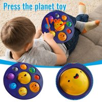 Partys Eight Planet fingers press bubble music decompression pinch music eight planets children's educational toys