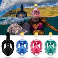 Diving Masks Swimming Mask Full Face Underwater Scuba Snorkeling Anti Fog Equipment Anti-Leak For Adults And Youth