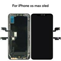 شاشات لوح لوحات اللمس OLED OLED OL LOCK Original Original ل iPhone XS Max مع استبدال الجمعية ثلاثي الأرقام ثلاثية الأبعاد
