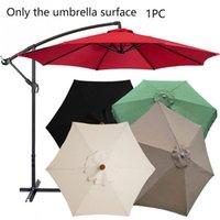 Polyester Yedek Kapak Şemsiye Gölgelik Güneş Şemsiye Veranda Ev Açık Şemsiye Yağmur Geçirmez Kumaş için Soğuk Tutun