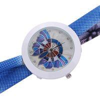 Wristwatches Fashion Leisure Womens Quartz Watch Scarves Crystal Diamond Analog Leather Kadin Kol Saati Zegarki Damskie Smart Women Clock