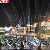 Renk Mavi 6 W 12 W 18 W 24 W 36 W IP68 LED Sualtı Işık Mavi Açık Su Geçirmez Renkli Su Spot Yüzme Havuzu Işık Çeşmesi Işık