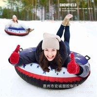 2021 new American flag ski ring   PVC Ski   inflatable swimming ring   inflatable mount ski ring