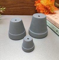 Mini Terrakotta Topf Ton Keramik Keramik Pflanzer Kaktus Blume Sukkulente Kindertöpfe Tolle Garten Pot4CPS JNO3 QKXV 1486 T2