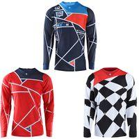 (Nouveau Set de t-shirt) Cyclisme Course Knight Cross Country Country Moto Sleeve Longue Lowing en descente au printemps et en été