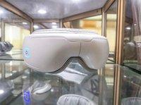 Machine Massager des yeux avec vibration et chauffage Massage de compression d'air de chauffage Relax yeux masque DHL Fast Ship
