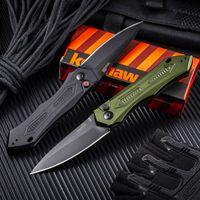 Kershaw 7800BLK folding knife 59-60HRC high hardness outdoor security defense saber pocket backpack self-defense EDC tool knives HW584