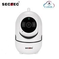 Sectec 1080p Cloud Wireless IP Cámara IP Inteligente Auto Seguimiento de la Vigilancia de Seguridad Interior Smart Inicio Red CCTV WIFI CAM1