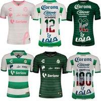 2021 2022 Santos Laguna Soccer Jersey 21 22 Camisetas Jerseys Orrantia Gorriarán Gael D. Valdés Dória Home Away Edição Especial Rosa Independence Day Football Camisas