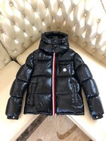 Дизайнер Monclair Мужские пуховые куртки Parkas Роскошный монлер Монбелиард Хаудяка Черный синий белый гусиный высокое качество человека зимнее знаменитое название бренд наружные пальто