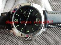 BOX Men's 8 DAYS 2021 Movement Power savings Counterclockwise Manual winding movement Diving Fashion Black faceplate luminous Watch