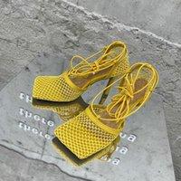 MONMOIRA AIR MESH LACE UP SANCHES SANCHES SANCHES SANCHES FEMMES Vintage Square-Toe Design Chaussures Femmes Élégantes Mesdames Chaussures