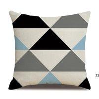 Модная подушка декоративная абстрактная тыква угощение или трюк домашнее декор квадратный бросок наволочка хлопковое белье для дивана патио HWF8550