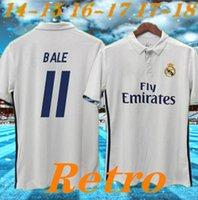 Real Madrid 2016 2017 Ronaldo Retro Soccer Jersey Benzema Camisa de Futebol 2014 James Vintage Camiseta de Fútbol Sergio Ramos Bale Maillot