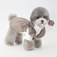 Dog Apparel Autumn and winter pet small dogs clothes, Japanese Korean style, cat two-legged bottoming clothes