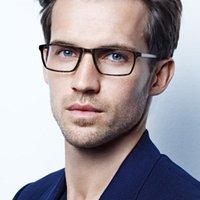 2021 Nova Dinamarca Marca Titânio Titânio Óculos Ópticos Homens Square Myopia Olho Quadro de Vidro Prescrição Óculos Coreanos Eyewear WP0J