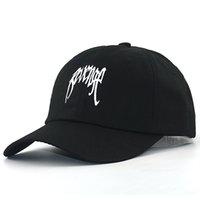 Месть / xxxtentacion вышивка хип-хоп папа шляп хлопок регулируемый черный ремешок бейсболка мужские женщины изогнутые кепки
