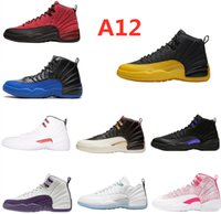 Designer 2021 Fashion Casual Shoes 12 indigo blue obsidian mens and womens basketball sneakers