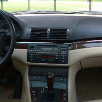 Fibre de carbone Moulures intérieures CD Panneau de commande Cadely Cadeloire Autocollant Accessoires d'intérieur pour BMW 3 Series E46 1998-2005