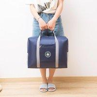 أكياس التخزين للجنسين السفر الرئيسية سعة كبيرة للماء حقيبة المحمولة المرأة حقيبة يد الأمتعة التعبئة مكعبات المنظم