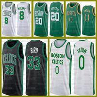 Nouveau Jayson 0 Tatum BostonCelticsKemba 8 Walker Larry 33 Bird Marcus 36 Smart Jersey Jaylen Brown Gordon Hayward Basketball