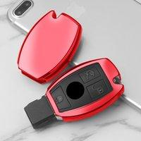 Новый TPU Car Cover Cover Case Shell Bag Защитная Ключ Кольцевая цепочка для Mercedes Benz C Class W205 GLC GLA Автомобильные аксессуары