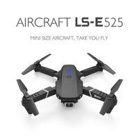 LS-E525 DRONE 4K HD Dual Linse Mini Wifi 1080P Echtzeitübertragung FPV-Drohnen-Kameras faltbares RC-Quadkopter-Spielzeug