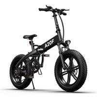 [EU-Aktie] ADO A20F Elektrische Fahrrad 500 Watt 20 Zoll Fettreifen Ebike bürstenlos Motor Faltbares Fahrrad 36V 10.4Ah Lithium-Ionen-Batterie Ebikes