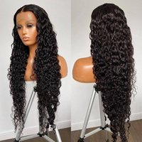 Lace Wigs Curly Human Hair Wig Natural Deep Wave 13*4 Front Brazilian For Women 150% Remy