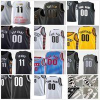 شاشة مخصصة مطبوعة Kyrie 7 Durant Kevin 11 Irving Spencer 26 Dinwiddie Joe 12 Harris Men امرأة أطفال الشباب الفانيلة كرة السلة