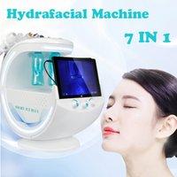 2021 Multifunction Hydrafacial Machine Smart Ice Blue Ultrasonic RF Aqua Skin deep cleaning Dermabrasion Hydra facial with skin analysis system