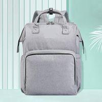 Diaper Bags Maternity Bag USB Mommy Nappy Baby Care Backpack Fashion Travel Nursing Backpacks For Mom Multifunction Stroller