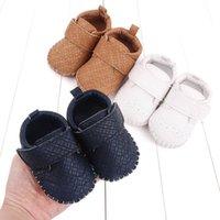 Sapatos de bebê primeiro caminhantes infantil sapatilhas pu couro meninos recém-nascidos calçados mocassins macios botas casuais primavera outono B7366