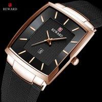 Designer luxo marca relógios recompensa moda mass homens es homens empresários à prova d 'água de quartzo de aço inoxidável