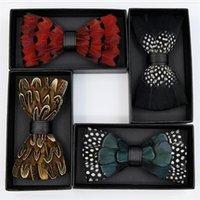 최고의 나비 넥타이 깃털 PU 나비 넥타이 나비 새로운 neckwear 저녁 파티 웨딩 코스프레 쇼 액세서리 조절 벨트