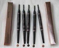 نمط كلاسيكى العلامة التجارية عالية خمسة ألوان اثنين رئيس الحاجب قلم رصاص التلقائي 2 في 1 الدورية للماء مجانا وسريع التسليم