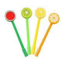 Fruit Ballpoint Pens Creative Gel Cartoon Ballpoints Pen Fruits And Vegetable Shape