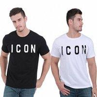 20+ Colore Casual Tee Icon Stampato Uomini T Shirt T-shirt Fitness T-shirt Mens Icon D2 Camicia Camicie Magliette Top Qualità Manica M-3XL Vestiti MGSD5 V34H #