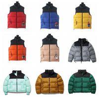 남자 조끼 디자이너 조끼 아래로 자켓 TNFA02 패션 겨울 망원 재킷 Womens 의류 파카 야외 겉옷 따뜻한 깃털 복장 멀티 컬러 코트 의류