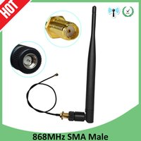 868 Antenna Lora Lorawan pbx 915MHz 5dbi Male Connector GSM 868 IOT antena antenne waterproof RP-SMA u.FL Pigtail Cable