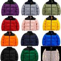 Mens Down Giacche imbottita Faccia moda tendenza invernale manica lunga con cerniera parka uomini donne cappotti designer maschio caldo nord fitto soprabito coperto coppie a vento zanzariera Z1
