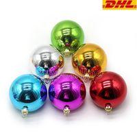 8cm Balls de sublimación Decoraciones de la bola de Navidad para la impresión de la transferencia de tinta Impresión de calor Presione DIY Regalos Craft Navidad Árbol Adorno FY2934