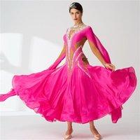 Stage Wear B-2080 High Quality Sexy Women Girls Dance Dress Ballroom Custom Dresses Adult Waltz For Sale