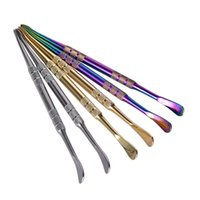 Strumento di cera dell'utensile dell'arcobaleno dell'arcobaleno dell'arcobaleno 121mm dell'arcobaleno dell'arcobaleno dell'arcobaleno dell'arcobaleno dell'arcobaleno per l'atomizzatore del globo di vetro del vaporizzatore della erba asciutta