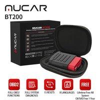 ThinkCar Mucar BT200 أداة تشخيص السيارات OBD2 الماسح الضوئي نظام كامل 15 إعادة تعيين 1 سنة التحديث النفط SAS