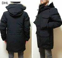 Men's Coats Down jacket Homme Outdoor Winter coat Big real wolf Fur Hat hoolded Windproof Warm Hiver Parka Doudoune