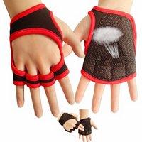 Meio dedo luvas masculinos e mulheres ioga ioga haltere equipamento horizontal bar rolo de ferro treinamento de ferro Anti escorregamento dedo curto