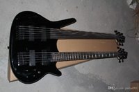 Wholesale Price Custom double neck bass guitar 5 string and 6 string bass super bass Electric Guitar