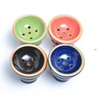 Arabischer Keramik-Rauchtopf Andere Raucher-Accessoires Shisha-Schüssel 6.1 * 5,7 cm Wasser-Wasserhaare NHD8337