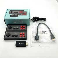 Portable Game Players Y2 4K Video Console 8 BIT Built In 621 Mini Retro Wireless Controller HD Output Dual